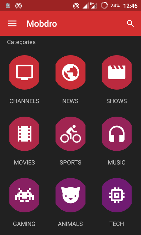 Watch Live Sports, TV Shows and Movies on Mobdro App