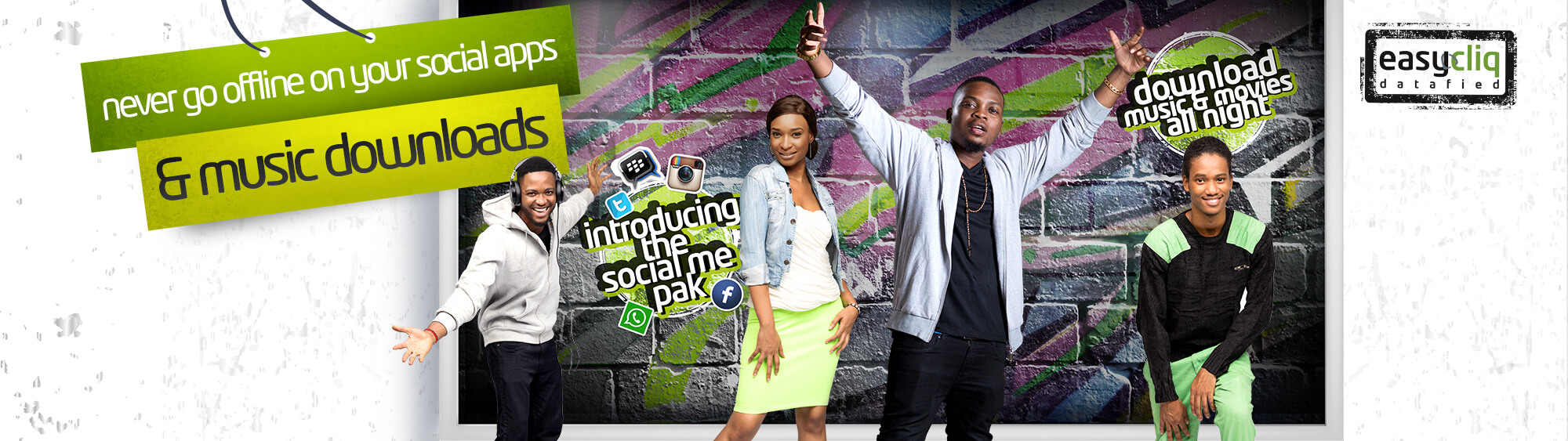 Etisalat SocialME PACK Unlimited Access to Social Apps