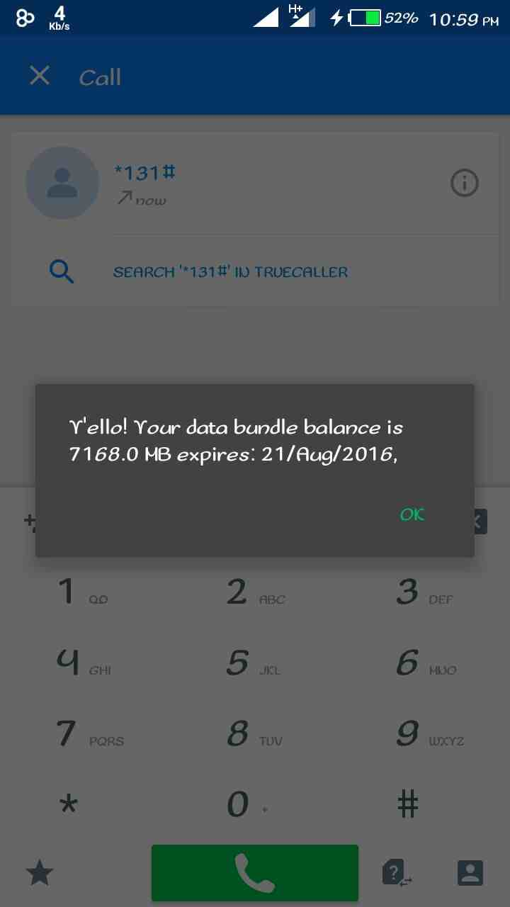 MTN 7GB Data for 2000 Naira