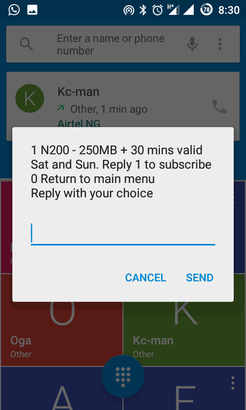 Airtel unveils 25/50 Naira Data Plan @500MB/1.5GB