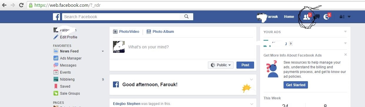 How to Accept Multiple Facebook Friend Request in one click