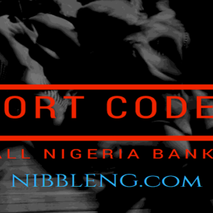 Sort codes for all Nigeria Banks Full List