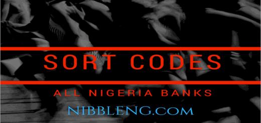 Sort codes for all Nigeria Banks Full List