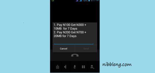 MTN 200 Naira recharge gives you 700 Naira plus 20 MB