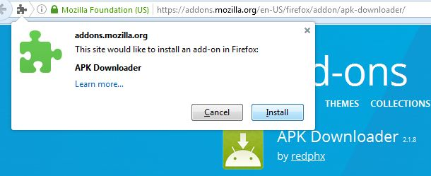 firefox-playstore-add-on