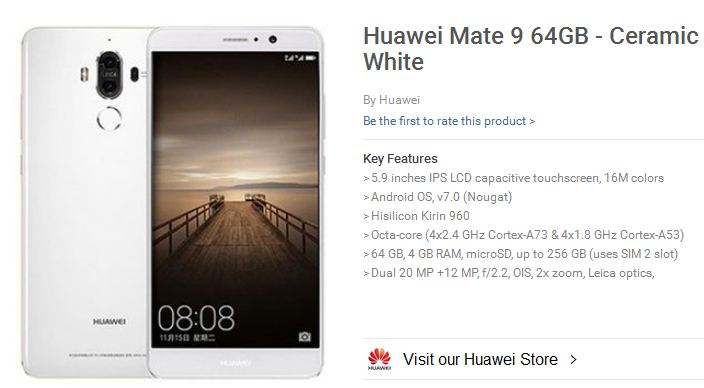 huawei-mate-9-specification-and-price-in-nigeria