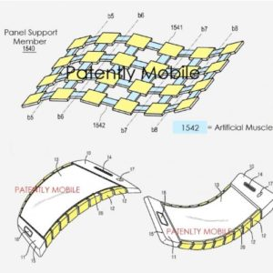 Samsung granted patent for Bendable and Flexible Display Technology