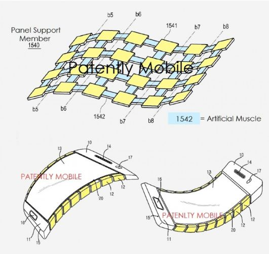 samsung-granted-patent-for-bendable-and-flexible-display-technology