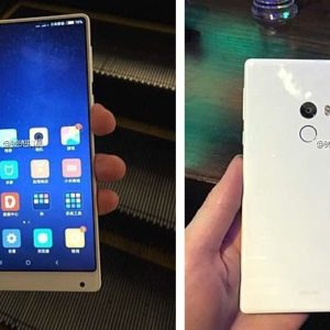 Xiaomi Mi Mix White Variant Featured in Chinese mall Price Specs Nigeria