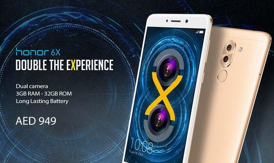 Huawei Honor 6X Price Specification Saudi Arabia UAE Egypt