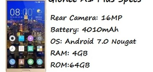 Gionee A1 Plus Price Specification Nigeria India Pakistan Saudi Arabia UAE UK USA