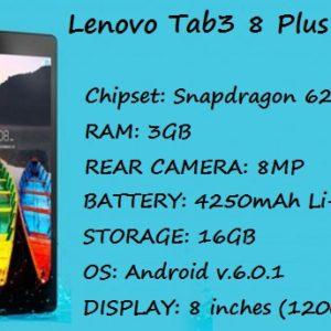 Lenovo Tab3 8 Plus Price Specification Nigeria India Pakistan China US UAE UK Saudi Arabia Italy