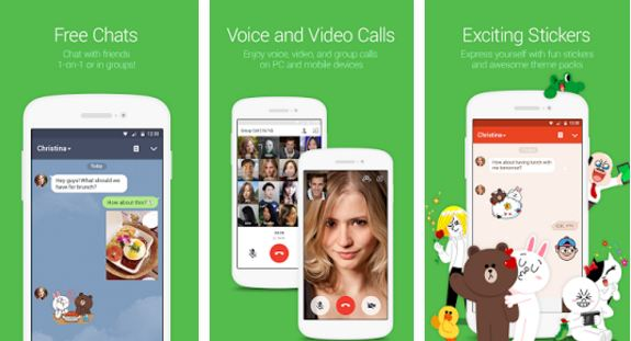 Line Latest apk Download with Support for 360 Degree Photos