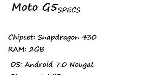 Moto G5 Price Specification Nigeria China US UK India UAE Saudi Arabia