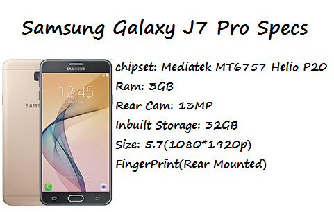Samsung Galaxy J7 Pro Price Specification Nigeria China