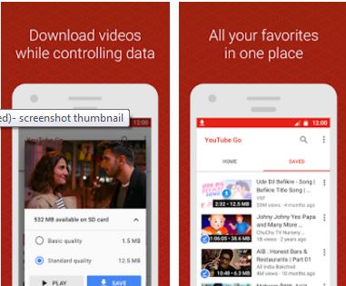 YouTube Go Beta app Download  apk: Download Videos for