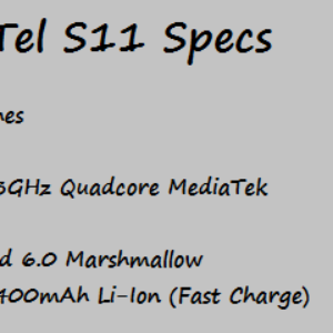 iTel S11 Price Specificaation Nigeria China India Kenya Ghana