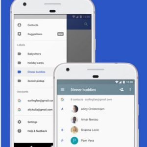 Download Install Google Contacts 2.0 with Clean New Looks