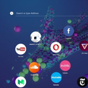 Download Opera Neon Concept Browser with Whatsapp Support