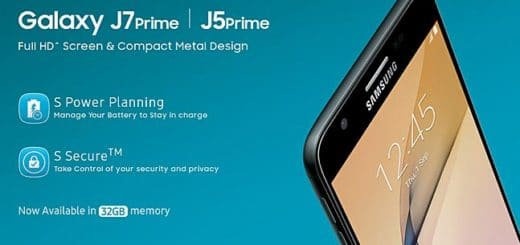 Samsung Galaxy J5 Prime & J7 Prime 32GB Price in India