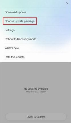 Download Install Xiaomi Mi6 Firmware ROM File