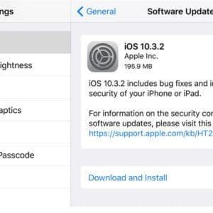 iOS 10.3.2 Download and Install iPhone iPad iPod touch