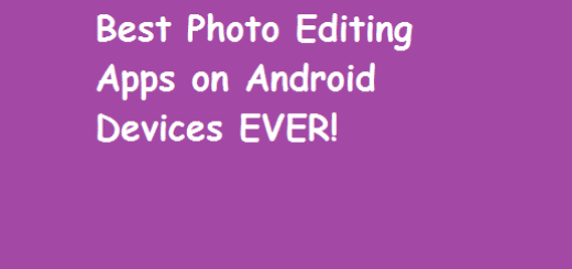 Top Best 6 Android Photo Editing Application for your Devices