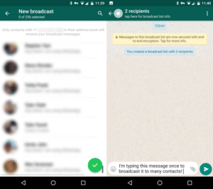WhatsApp-Broadcast
