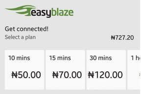 Etisalat Blaze On Unlimited Internet Time Based Data Bundle