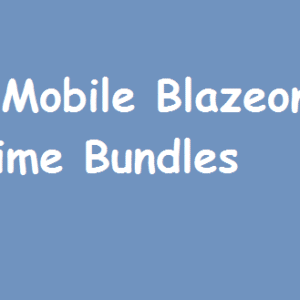 9Mobile BlazeOn Internet Time Data Bundles Data Cap Rate