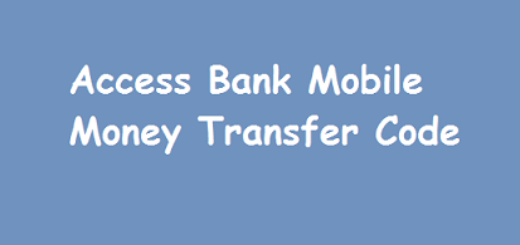 ACCESS BANK Nigeria: Mobile Money Banking Codes