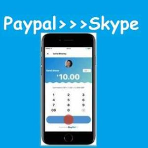 Send Money via Paypal Skype Mobile App iOS Android