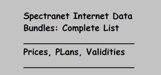 Spectranet Internet Data Bundles: Full List in Nigeria