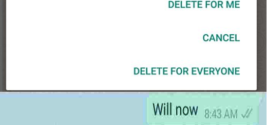 How to Delete unsend Whatsapp Messages Android, iPhone, Windows