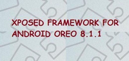 Manually Install Xposed FrameWork for OREO(Android 8.1.1)