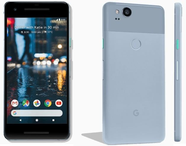 Kinda Blue Pixel 2 Price Specification USA UK