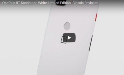 OnePlus 5T SandStone White Edition Specification