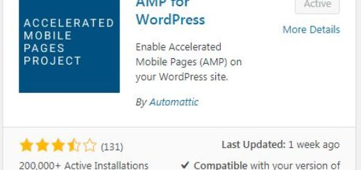 How to implement AMP (Google Accelerated Mobile Pages) in Wordpress