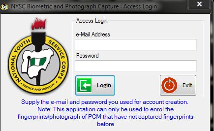 NYSC Biometric Capture: Fix Photo Upload & Fingerprint Capture Problem