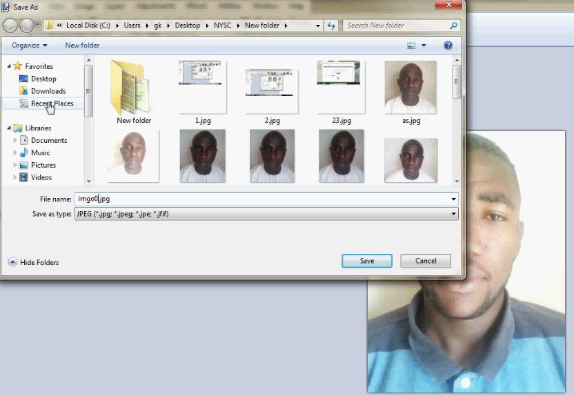 NYSC Biometric Capture Client: Fix Photo Upload