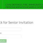Print out Letter of Invitation and Check Application Status Nigerian Fire Service