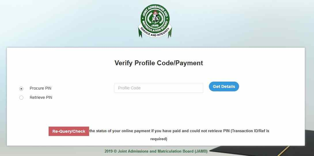 How to get Jamb ePin for UTME Registration on your Phone