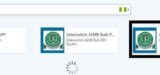 Jamb UTME ePins via QuickTeller Web