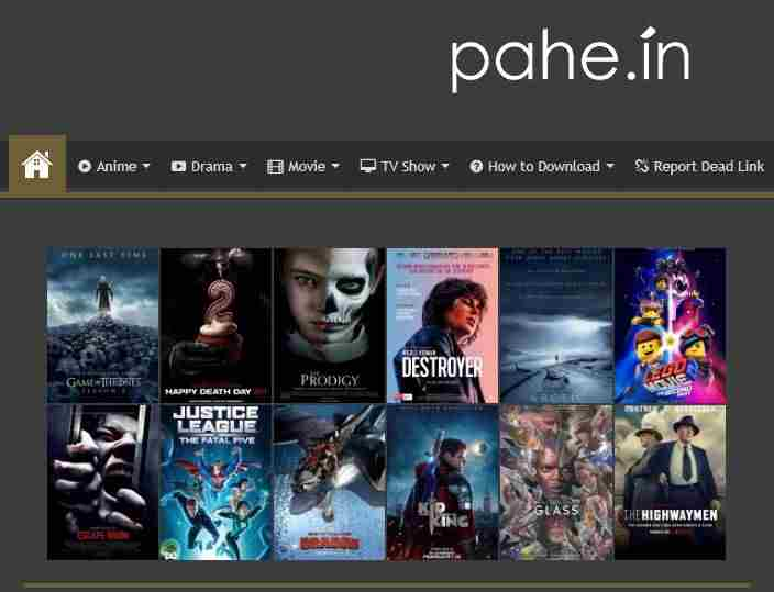Pahe TV Series Movies Download Mobile PC | nibbleNG