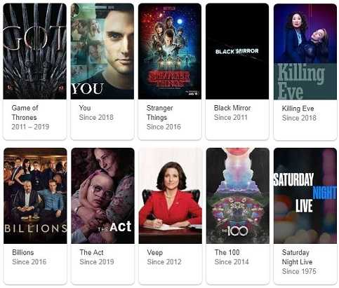 Best 60 Plus TV Series Shows Netflix Hulu Amazon Showtime