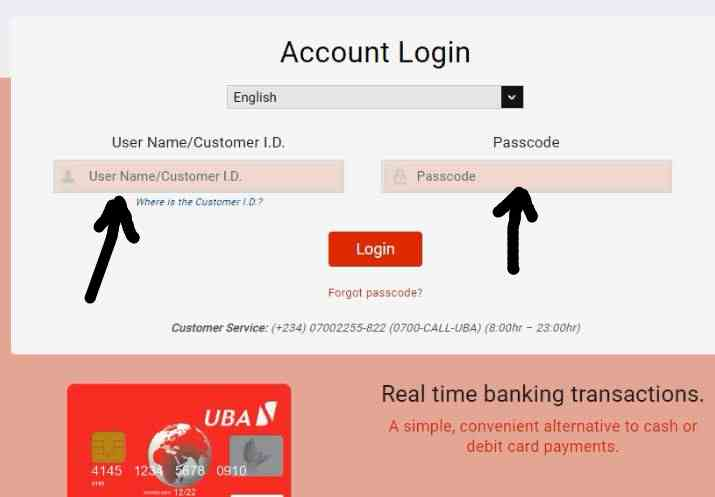UBA Visa Africard