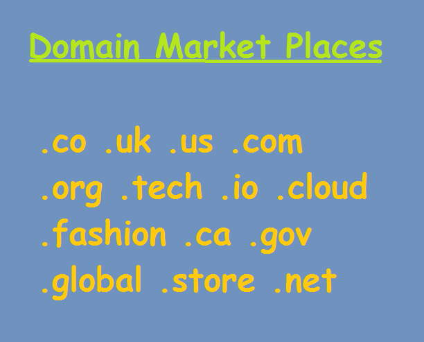 Top Online Domain Selling Markets