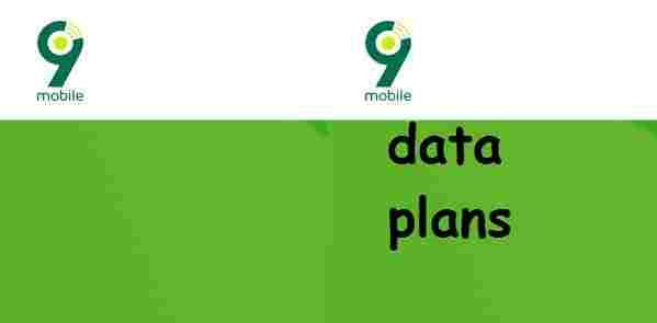 9Mobile Data Plan