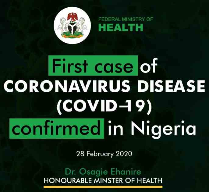 Corona Virus Nigeria Preventive Measures
